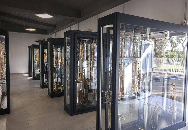 MUSEO DEL SAXOFONO - LEGGENDE DEL JAZZ E NON SOLO